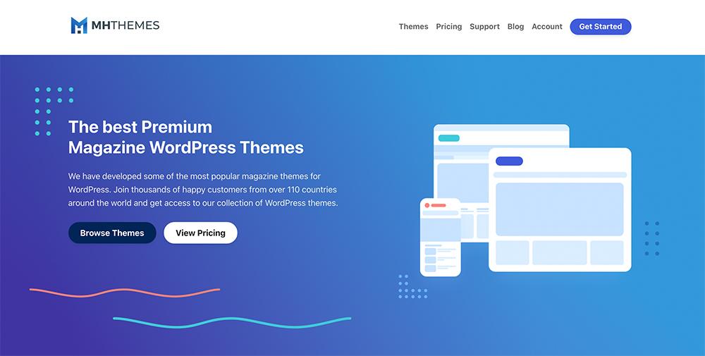MH Themes Website 2020